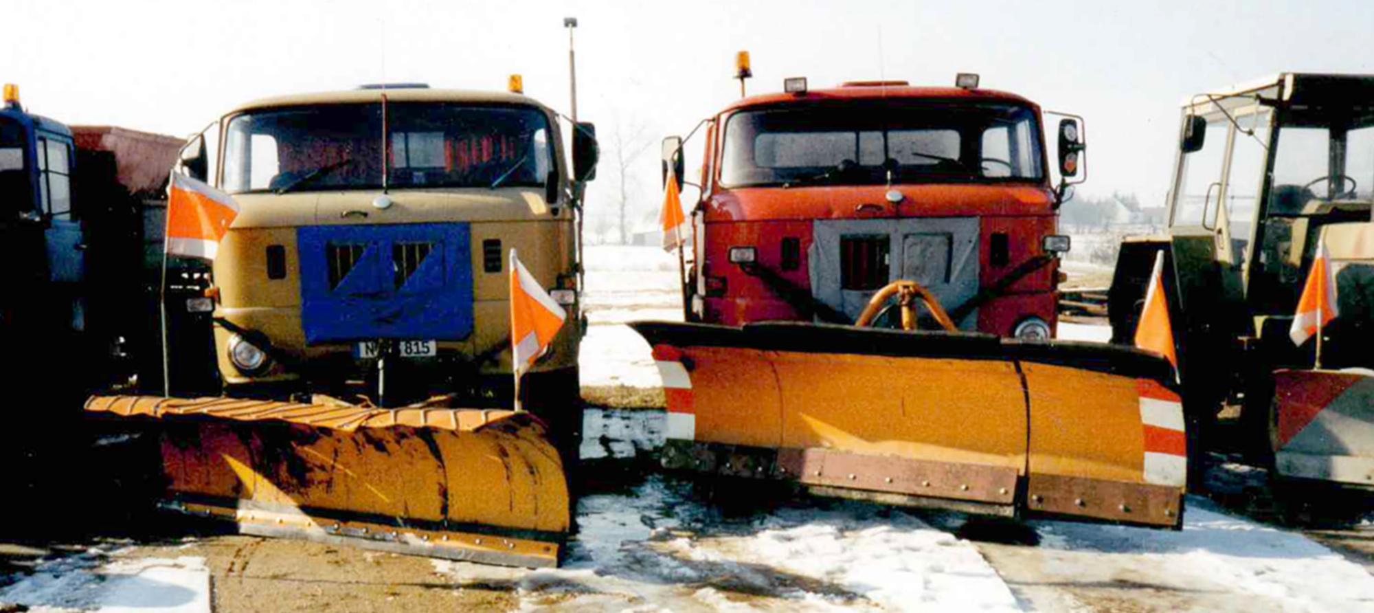 Wie alles begann - alte Flotte Rohloff Transport